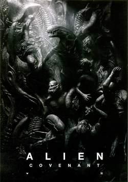 Copertina ALIEN COVENANT Poster n. - ALIEN COVENANT Poster, SALDAPRESS