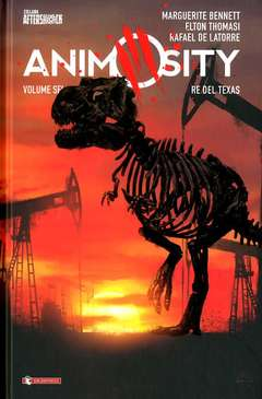 Copertina ANIMOSITY HC n.6 - IL RE DEL TEXAS, SALDAPRESS