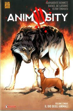 Copertina ANIMOSITY n.5 - IL DIO DEGLI ANIMALI, SALDAPRESS