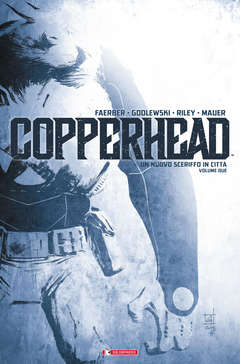 Copertina COPPERHEAD n.2 - FUGA NEL DESERTO, SALDAPRESS