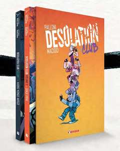 Copertina DESOLATION CLUB Cofanetto n. - DESOLATION CLUB 1-2, SALDAPRESS
