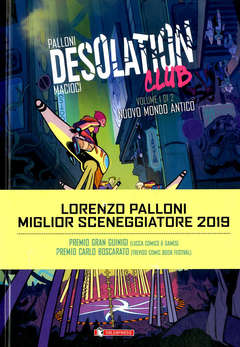 Copertina DESOLATION CLUB (m2) n.1 - DESOLATION CLUB, SALDAPRESS