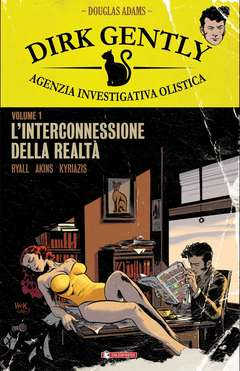 Copertina DIRK GENTLY n.1 - L'INTERCONNESSIONE DELLA REALTA', SALDAPRESS