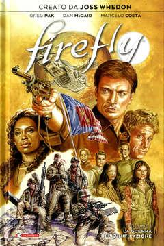 Copertina FIREFLY n.1 - LA GUERRA DELL'UNIFICAZIONE, SALDAPRESS