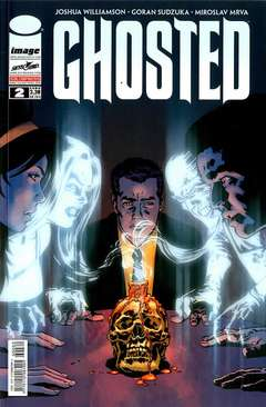 Copertina GHOSTED Serie (m10) n.2 - GHOSTED, SALDAPRESS