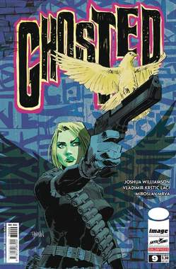 Copertina GHOSTED Serie (m10) n.9 - GHOSTED, SALDAPRESS