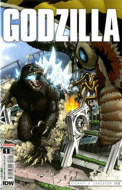 Copertina GODZILLA n.1 - GODZILLA, SALDAPRESS