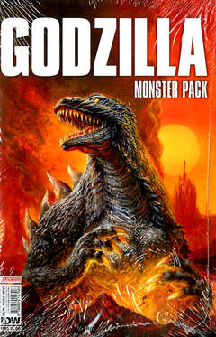 Copertina GODZILLA #1 MONSTER Pack n. - GODZILLA #1 MONSTER Pack, SALDAPRESS