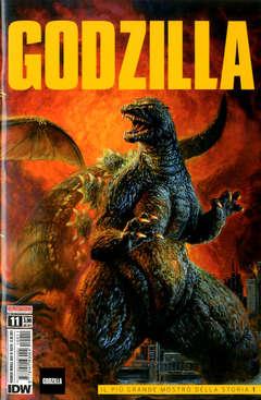 Copertina GODZILLA n.11 - GODZILLA, SALDAPRESS