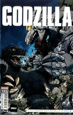 Copertina GODZILLA n.13 - GODZILLA, SALDAPRESS