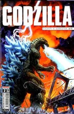 Copertina GODZILLA n.2 - GODZILLA, SALDAPRESS