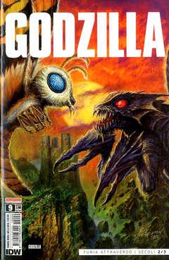 Copertina GODZILLA n.9 - GODZILLA, SALDAPRESS