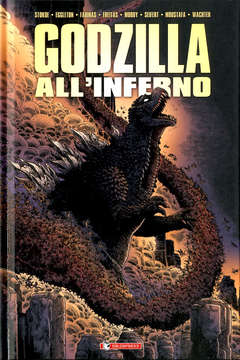Copertina GODZILLA ALL'INFERNO n. - GODZILLA ALL'INFERNO, SALDAPRESS