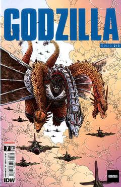 Copertina GODZILLA n.7 - OBLIO 3/4, SALDAPRESS