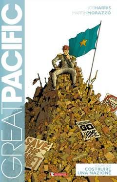 Copertina GREAT PACIFIC n.2 - COSTRUIRE UNA NAZIONE, SALDAPRESS