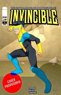 Copertina INVINCIBLE #1 Var. TV Series n. - Variant TV Series Celebration (Cory Walker), SALDAPRESS