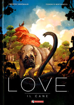 Copertina LOVE n. - AUSTRALIA - IL CANE, SALDAPRESS