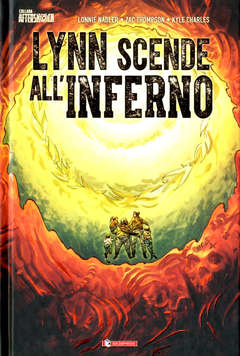 Copertina LYNN SCENDE ALL'INFERNO n. - LYNN SCENDE ALL'INFERNO, SALDAPRESS