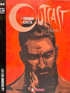 Copertina OUTCAST IL REIETTO n.24 - LA FUSIONE 3 - Cover A, SALDAPRESS