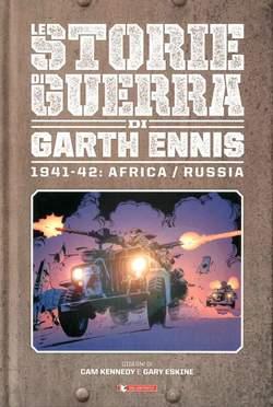Copertina STORIE DI GUERRA GARTH ENNIS n.2 - 1941-42: AFRICA/RUSSIA, SALDAPRESS