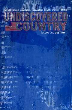 Copertina UNDISCOVERED COUNTRY #1 Var. n.1 - DESTINO - Slipcase Limited Numerata, SALDAPRESS