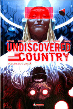 Copertina UNDISCOVERED COUNTRY #2 Var. n. - UNITA' - Matteo Scalera Variant, SALDAPRESS