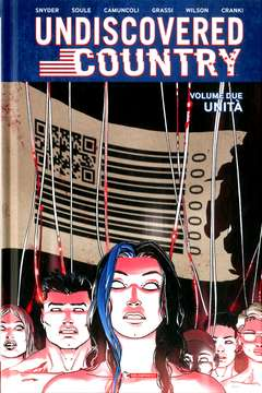 Copertina UNDISCOVERED COUNTRY n.2 - UNITA', SALDAPRESS