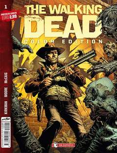 Copertina WALKING DEAD COLOR EDITION n.1 - WALKING DEAD COLOR EDITION, SALDAPRESS