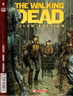 Copertina WALKING DEAD COLOR EDITION n.2 - WALKING DEAD COLOR EDITION, SALDAPRESS