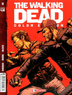 Copertina WALKING DEAD COLOR EDITION n.3 - WALKING DEAD COLOR EDITION, SALDAPRESS