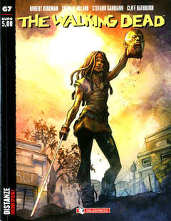 Copertina WALKING DEAD riediz.#67 Var. n. - DISTANZE - Variant IN AETERNUM, SALDAPRESS