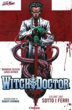 Copertina WITCH DOCTOR n.1 - SOTTO I FERRI, SALDAPRESS