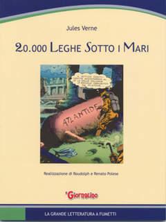 Copertina GRANDE LETTERATURA A FUMETTI n.2 - 20.000 LEGHE SOTTO I MARI, SAN PAOLO EDIZIONI