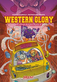 Copertina SBAM! Libri n. - Western Glory - Delivery Service, SBAM COMICS