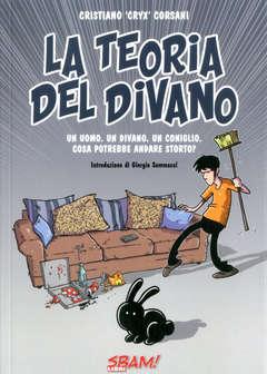Copertina TEORIA DEL DIVANO n. - LA TEORIA DEL DIVANO, SBAM COMICS