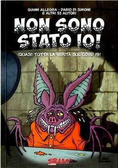 Copertina VOLUMI SBAM! con firma/sketch n.1 - NON SONO STATO IO!, SBAM COMICS