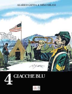 Copertina ALARICO GATTIA COLLECTION (m4) n.4 - GIACCHE BLU, SEGNI D'AUTORE