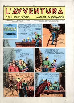 Copertina L'AVVENTURA anastatica n. - L'AVVENTURA 1944/1945, SEPI