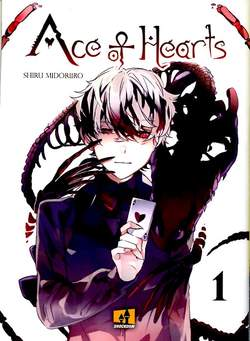 Copertina ACE OF HEARTS n.1 - ACE OF HEARTS, SHOCKDOM
