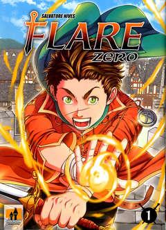 Copertina FLARE ZERO n.1 - FLARE ZERO, SHOCKDOM