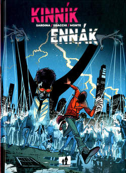 Copertina KINNIK ENNAK n. - KINNIK ENNAK, SHOCKDOM