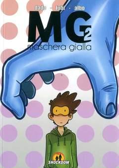 Copertina MASCHERA GIALLA n.2 - MASCHERA GIALLA, SHOCKDOM
