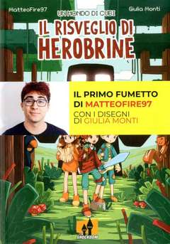 Copertina MONDO DI CUBI n.1 - IL RISVEGLIO DI HEROBRINE, SHOCKDOM