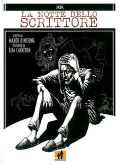 Copertina NOTTE DELLO SCRITTORE n. - LA NOTTE DELLO SCRITTORE, SHOCKDOM