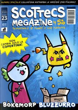 Copertina SCOTTECS MEGAZINE n.23 - SCOTTECS MEGAZINE, SHOCKDOM