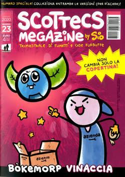 Copertina SCOTTECS MEGAZINE #23 Variant n. - VINACCIA, SHOCKDOM