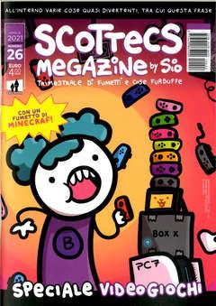 Copertina SCOTTECS MEGAZINE n.26 - SCOTTECS MEGAZINE, SHOCKDOM