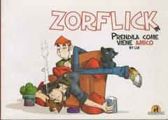 Copertina ZORFLICK n. - PRENDILA COME VIENE AMICO, SHOCKDOM