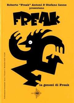 Copertina FREAK n.1 - FREAK, SIE