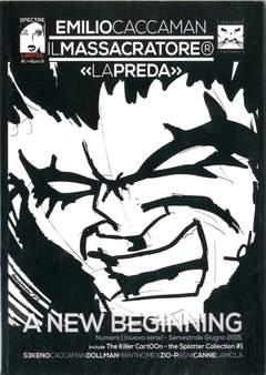 Copertina MASSACRATORE N. Serie #1 Var. n.1 - la preda #1 cover A, SPECTRE EDIZIONI